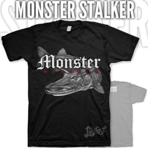 Monster Stalker Fishing Tee - Musky