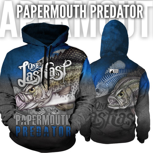 Papermouth Men's Fishing Hoodie - Crappie