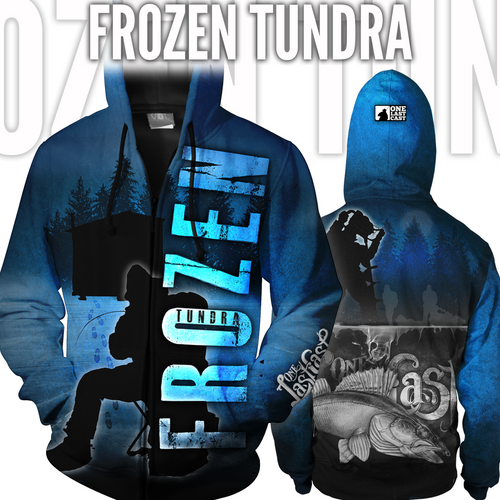 Frozen Tundra Ice Fishing Jacket - Walleye