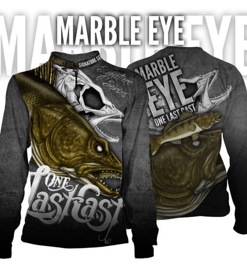 Marble Eye Men's Fishing Jersey - Walleye