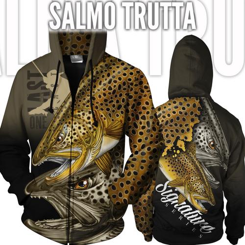Salmo Trutta Fishing Jacket - Brown Trout