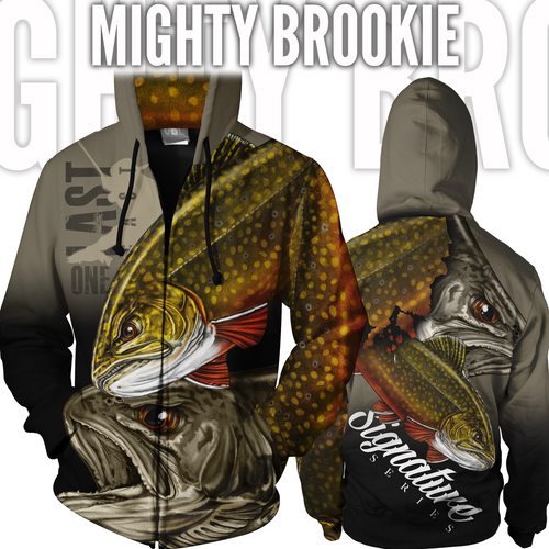 Mighty Brookie Fishing Jacket - Brook Trout