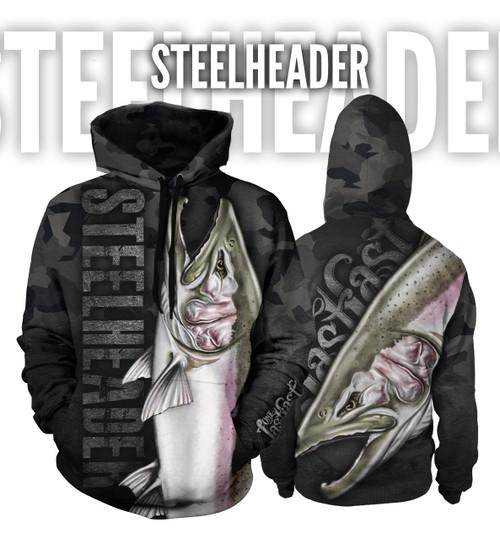 Steelheader Men's Fishing Hoodie - Steelhead