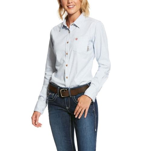 Ariat Women's FR Hermosa DuraStretch Work Shirt
