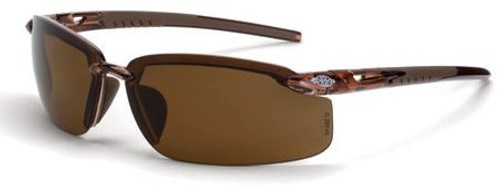 Crossfire ES5 Safety Glasses Brown Polarized Lens