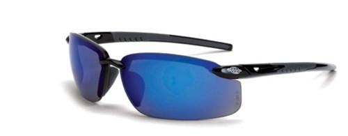 Crossfire ES5 Safety Eyewear Blue Mirror Lens
