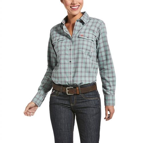 Ariat Women's FR Eberly Snap Work Shirt