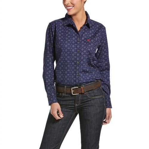 Ariat Women's FR Sayers DuraStretch Work Shirt