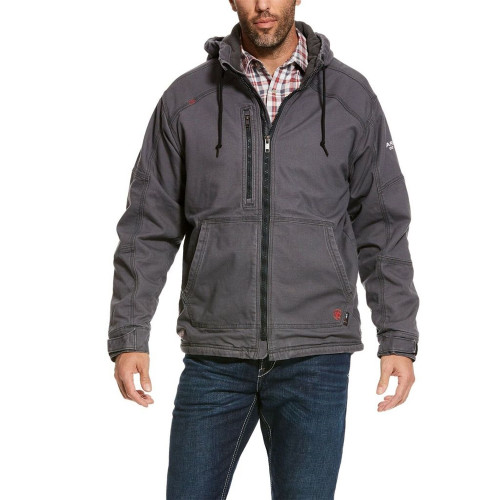 Ariat FR Duralight Stretch Canvas Hooded Jacket