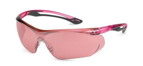 Parallax Gateway Safety Eyewear Pink Mirror Lens