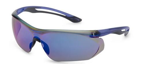 Parallax Gateway Safety Eyewear Blue Mirror Lens