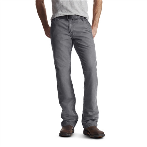 Ariat FR M4 Workhorse Boot-Cut Charcoal Pants