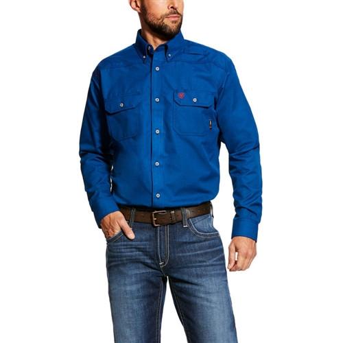 Ariat FR Featherlight Work Shirt Royal Blue