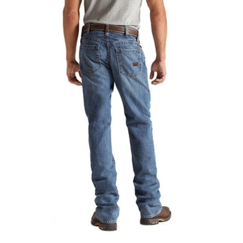 Ariat Work FR Men's M4 Flint Low Rise Boot Cut Flame Resistant Jean