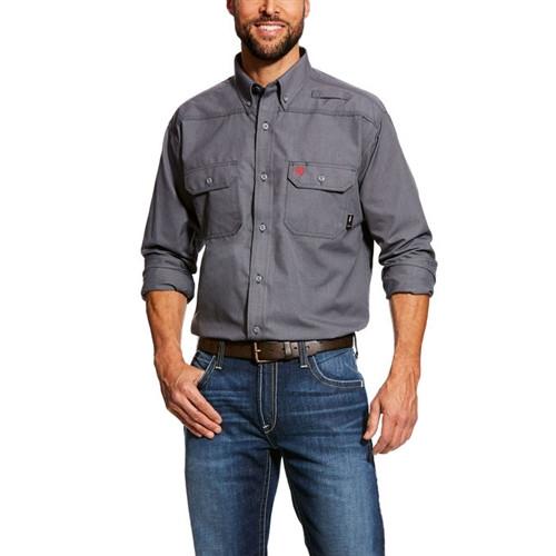 Ariat FR Featherlight Work Shirt Gunmetal Grey