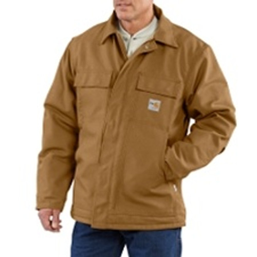 Carhartt Flame Resistant Duck Traditional Coat/Quilt Lined