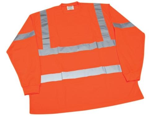 Ironwear Hi-Visibility Orange Long Sleeve T-Shirt
