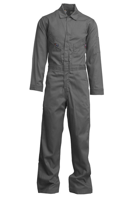 Lapco Flame Resistant Grey Contractor Coverall