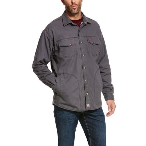 Ariat FR Rig Iron Grey Shirt Jacket