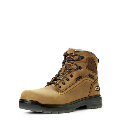 "Ariat Men's Turbo 6"" Waterproof Carbon Toe Work Boot"