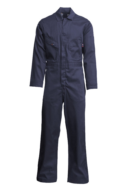 Lapco Flame Resistant Dark Navy Contractor Coverall