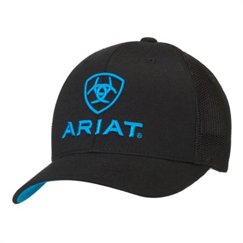 Ariat Turquoise Logo Baseball Cap
