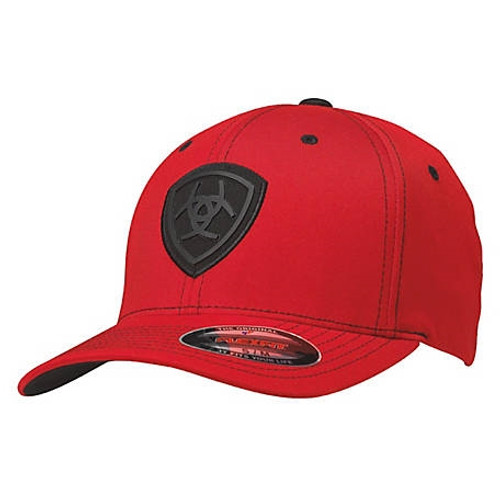 Ariat Red Flex-Fit Baseball Cap