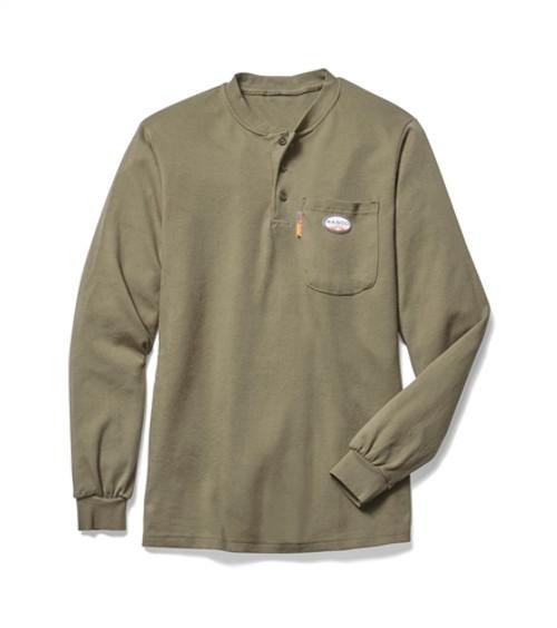 Rasco Flame Resistant Henley Shirt