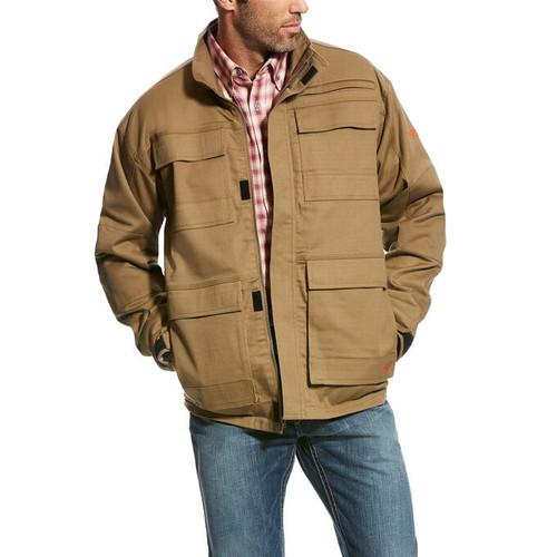 Ariat FR Khaki Canvas Stretch Jacket
