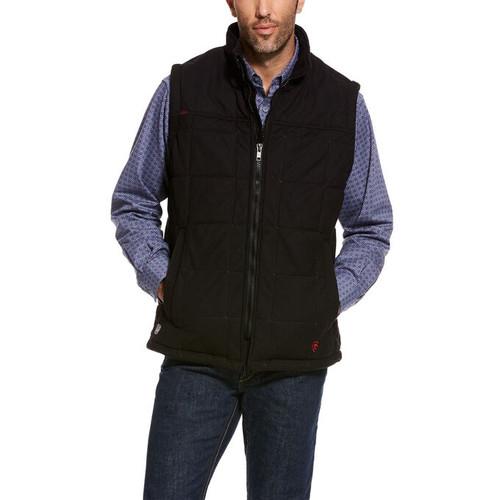 Ariat FR Crius Insulated Vest Black