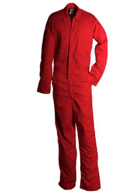 Lapco Red Flame Resistant Contractor Coverall