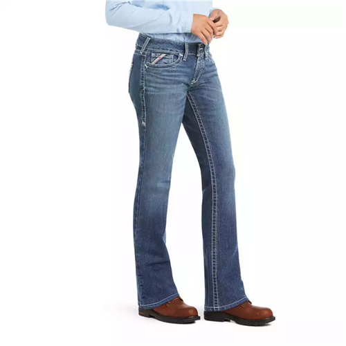 Ariat Women's FR DuraStretch Entwined Boot Cut Jean