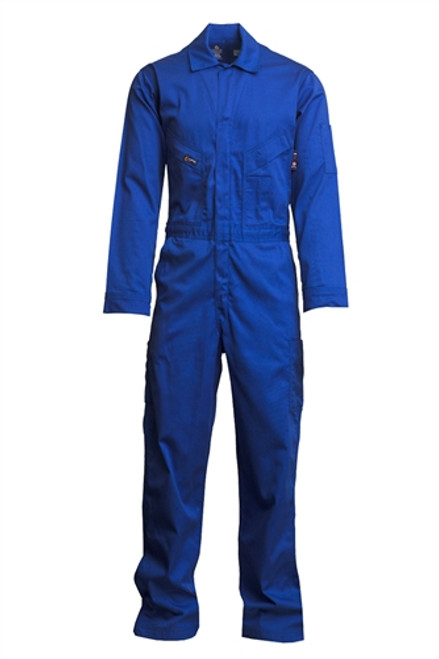 Lapco Flame Resistant Royal Blue Contractor Coverall