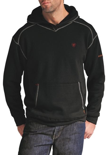 Ariat FR Polartec Black Hooded Sweatshirt 10014372