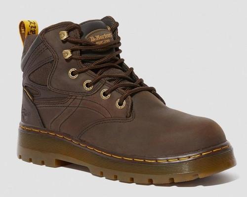Dr. Marten's Men's Plenum Brown Work Boot