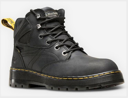 Dr. Marten's Men's Plenum Black Work Boot