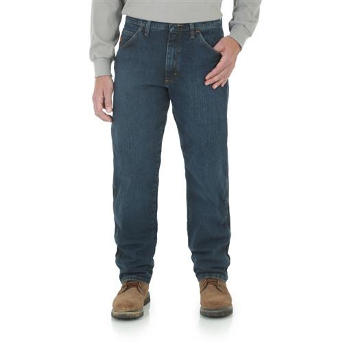 Wrangler Men's Advanced Comfort Relaxed Fit Jeans