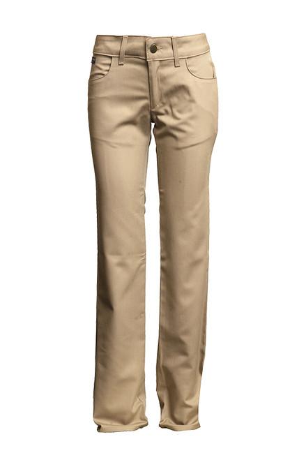 Women's Lapco FR Advanced Comfort Khaki Uniform Pants