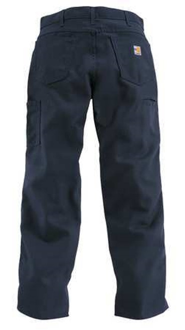 Carhartt Navy Flame Resistant Loose-Fit Midweight Canvas Jean