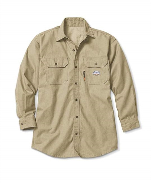 Rasco FR Men's DH Air Uniform Shirt Khaki