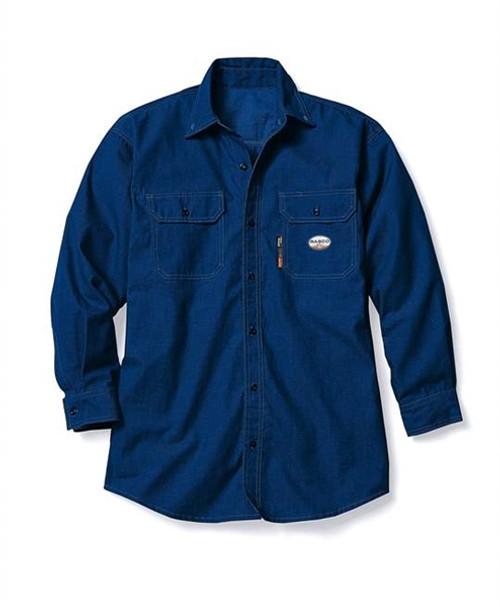 Rasco FR Men's DH Air Uniform Shirt Navy