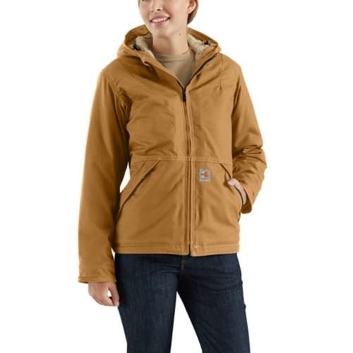 Carhartt Womens Flame-Resistant Full Swing Quick Duck Jacket