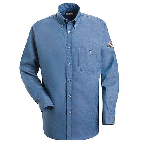 Bulwark Flame Resistant Denim Dress Shirt