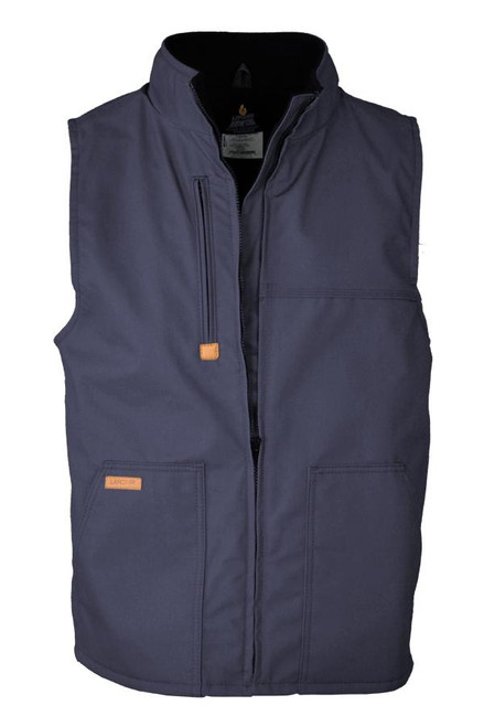 Lapco FR Windshield Fleece Lined Vest Navy