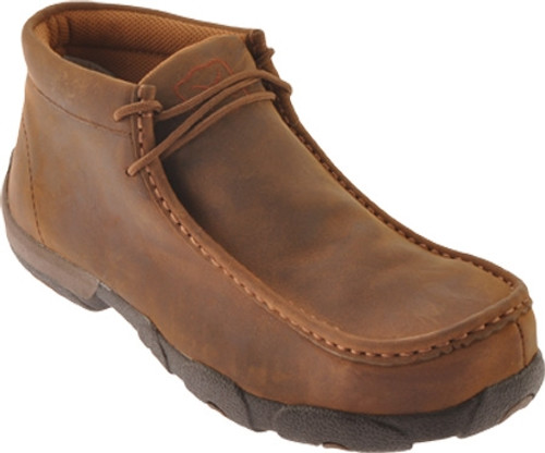 Twisted X Boots Steel-Toe Men's Driving Moccasins