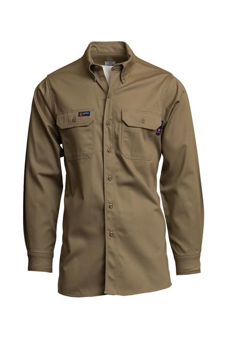 Lapco Fire Resistant Shirt Khaki