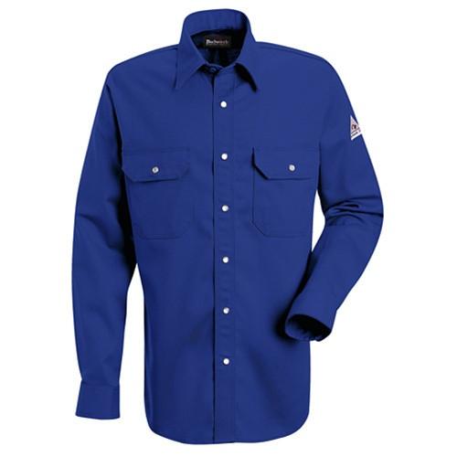 Bulwark Flame Resistant Snap-Front Uniform Shirt