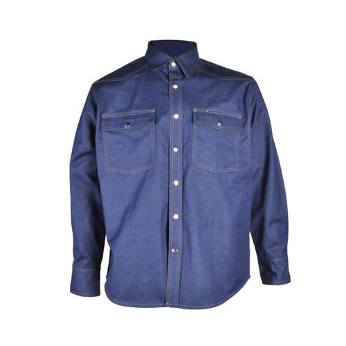 Forge Men's FR Denim Work Shirt