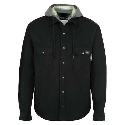 Wolverine Men's FR Black Canvas Jacket