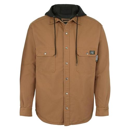 Wolverine Men's FR Brown Canvas Jacket